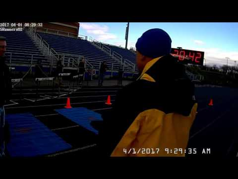 Millbrook 5k Color Me Blue Obstacle Run 2017