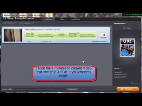 How to convert videos very fast with Wondershare Video Converter Ultimate