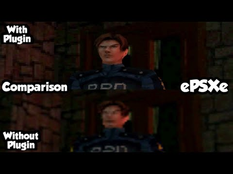 Comparison: EPSXe With OpenGl Plugin X Without OpenGl Plugin