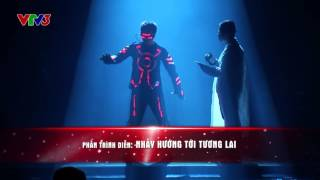 Vietnam's Got Talent 2016 - BÁN KẾT 3: Nhảy đèn led nhóm 218