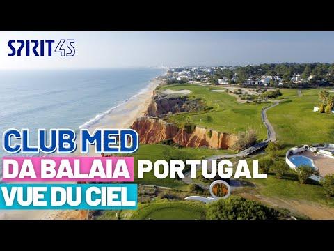 Club Med Da Balaia Portugal image drone exclusif du village