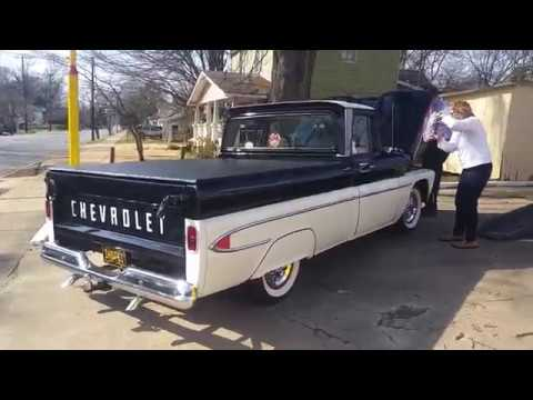 Classic Old 1961 Chevy Truck