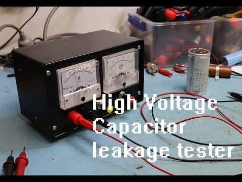 High voltage capacitor leakage tester decorative powder room mirrors