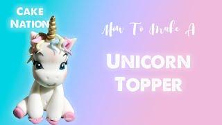 How To Make A Fondant Unicorn