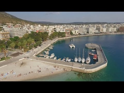 Loutraki Coastline, Corinth, Greece