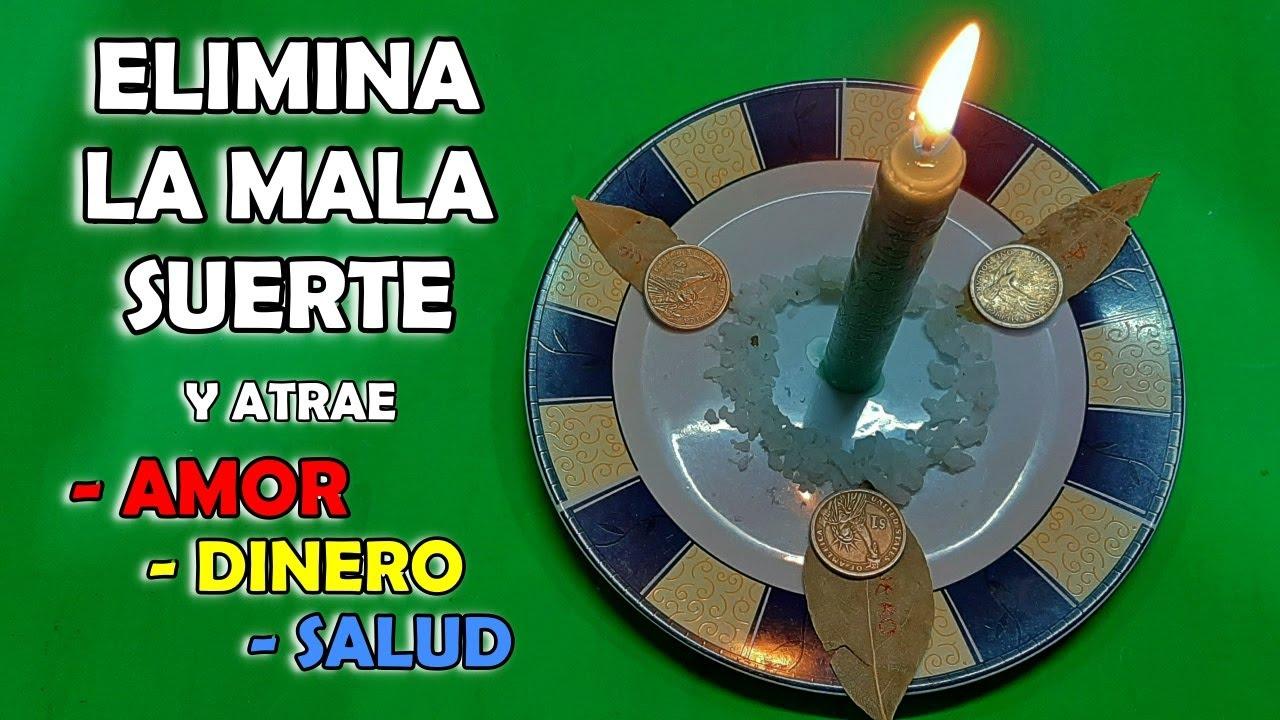 🙌 Poderoso RITUAL para ATRAER la BUENA SUERTE en la SALUD, DINERO Y AMOR - Hechizo purificador