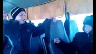 приколы в автобусе-2014