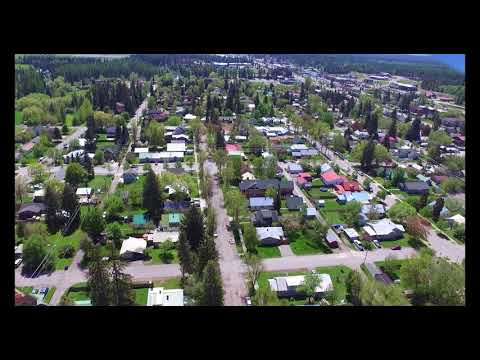 Whitefish Montana Drone Footage