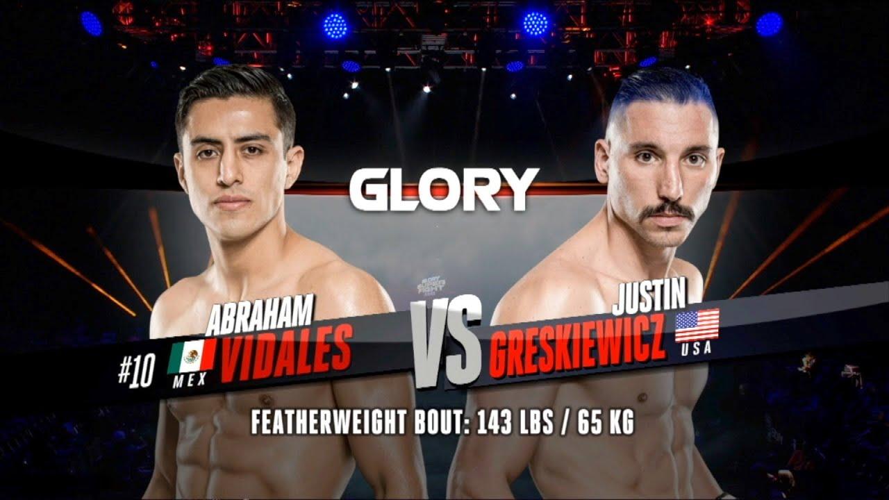 GLORY 68: Abraham Vidales v Justin Greskiewicz
