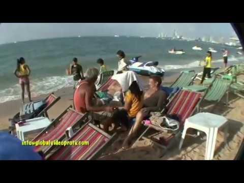 PATTAYA BEACH & CITY SITES, ASIA'S PLAYGROUND. THAILAND