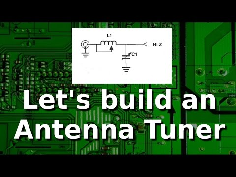 Ham Radio - Build your own L network antenna tuner