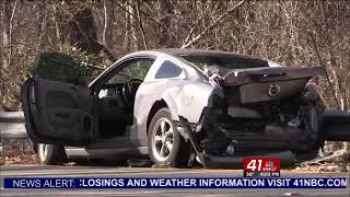 Two people dead following an accident near Hartley Bridge Ro