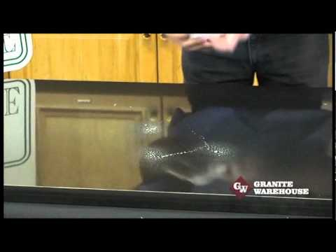How to clean Marble, Granite or Engineered Stone kitchen tops - MB Stoncare MB 5 & 13