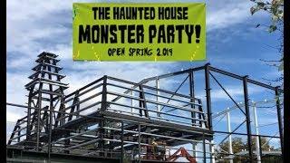 Legoland Windsor Haunted house - construction update episode 2 | September 2018