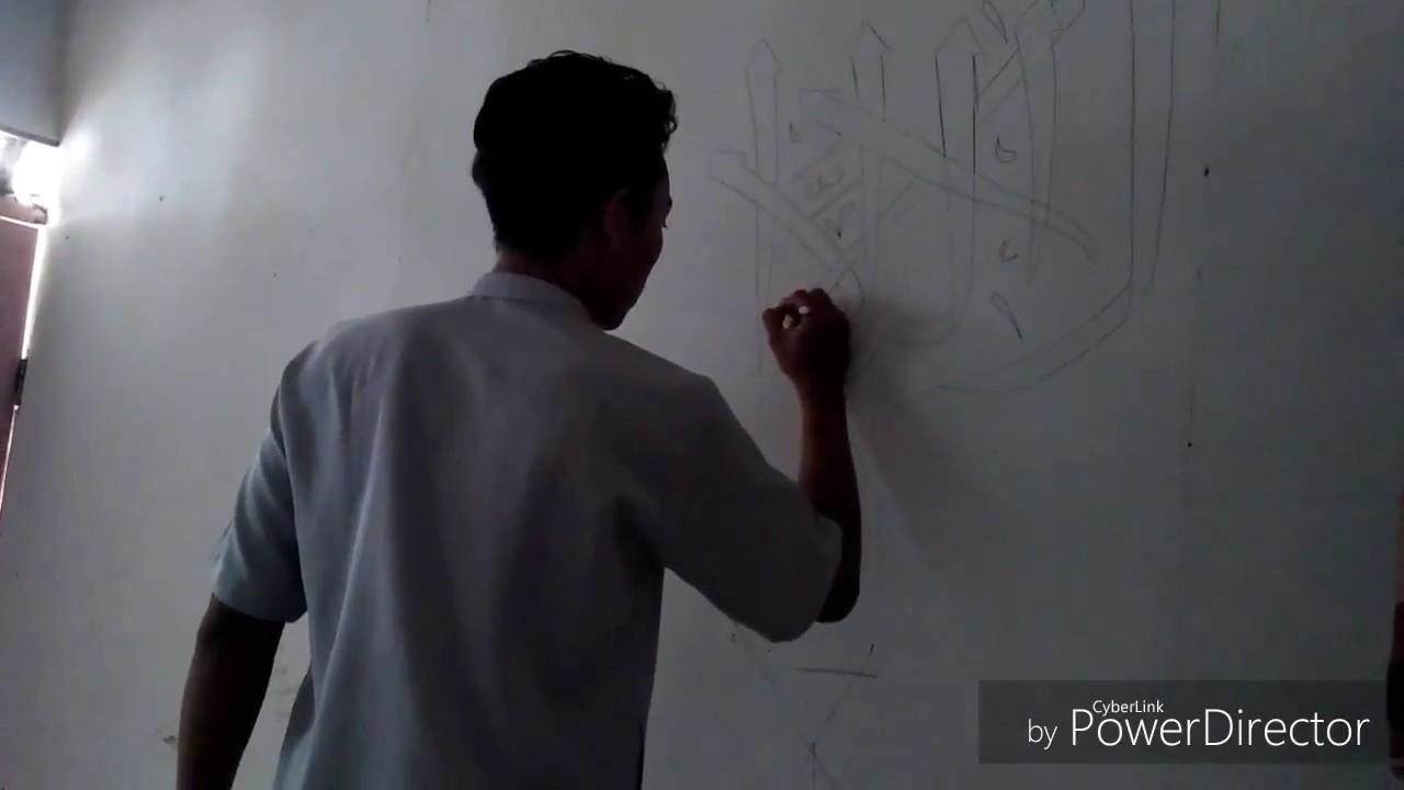 Membuat Kaligrafi لا اله الا الله محمد رسول الله Youtube