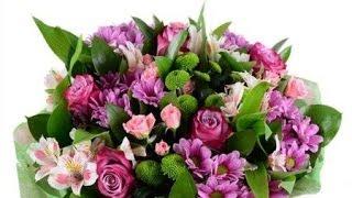 Букет На 8 марта. Заказать цветы на 8 марта - SendFlowers.ua(, 2014-02-25T07:43:33.000Z)