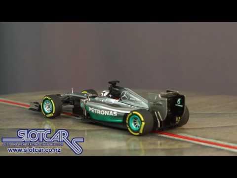 Carrera Slot Car Mercedes AMG F1 W05 Hamilton 27495 Slotcar