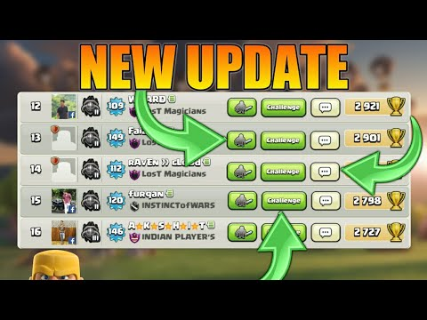 Download NEW OPTIONS ADDED IN SOCIAL FRIEND LIST! UPDATE CLASH OF CLANS•Future T18