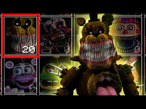 Twisted Fredbear In UCN! Twisted Ones! (UCN Mods)