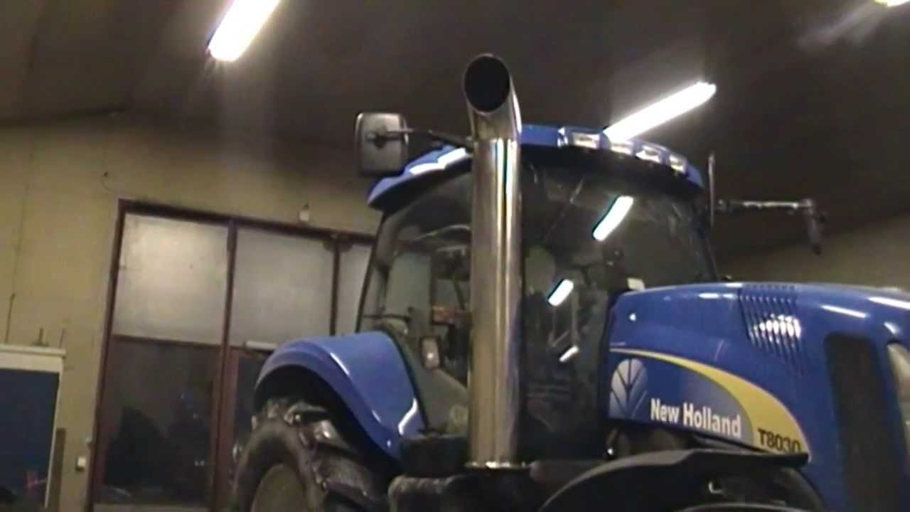 New Holland T8030 Open Pipe Part 1 3 Youtube