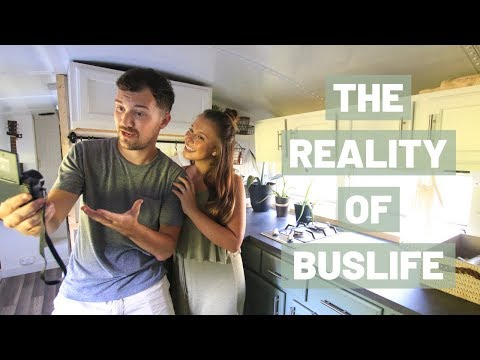 The REALITY of BUSLIFE vs EXPECTATIONS | Full Time in a Skoolie