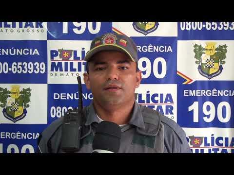 Polícia militar faz palestras sobre ética e cidadania nas escola de Confresa