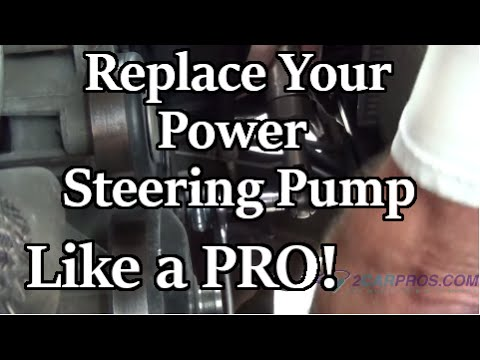 Replace Your Chevy or GM Power Steering Pump | AxleAddict