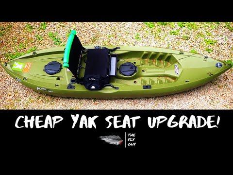 Lifetime Tamarack Angler Sit-On-Top Kayak 10' - Stadium Seat Upgrade - The Fly Guy