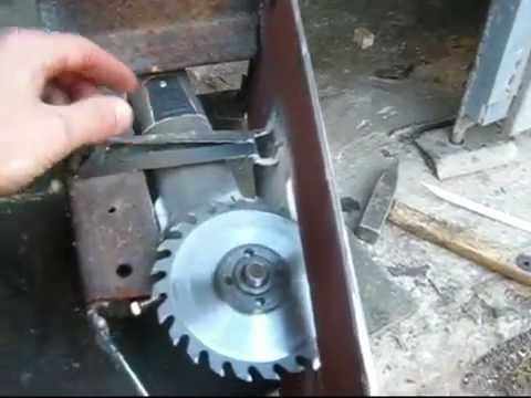 видео: Циркулярка из болгарки (мини)
