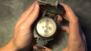 FOUND TREASURE- Radioactive Military Compass From 1981