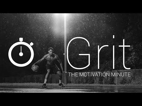 The Power of Grit | The Motivation Minute