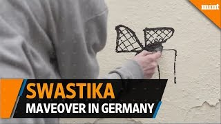 Germany Artists try to beautify the swastika