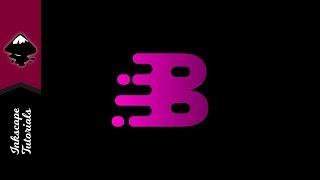 Inkscape Öğretici: Vektör Mektup B Erime Başlangıç Logosu Oluşturma