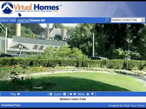 Newton Massachusetts (MA) Real Estate Tour