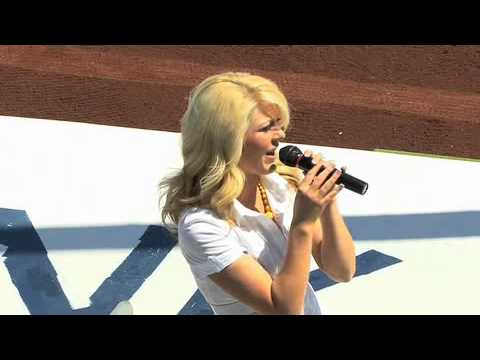 National Anthem tryouts at Drillers Stadium