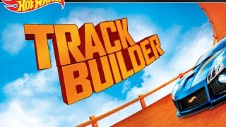 HOT WHEELS TRACK BUILDER  GAME Gameplay Video | Racing and Building Track Sets