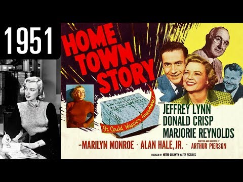Home Town Story  Full Movie  GOOD QUALITY 1951
