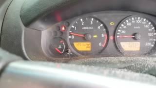 Navara Diesel D40 Cold Start