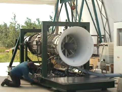 Ge Gas Turbine >> Turbine Engine: full power ... LOUD! - YouTube