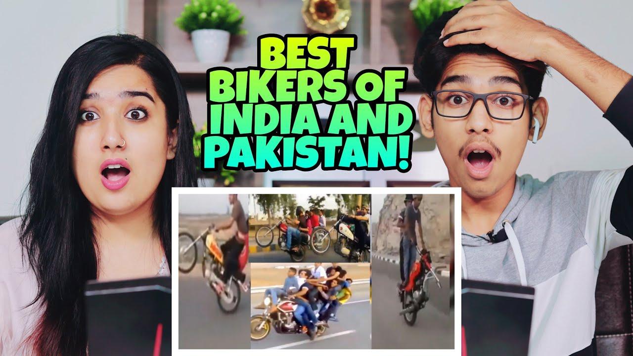 Indian Reaction On Best Of Pakistani Bike Riders | Shilpa Views