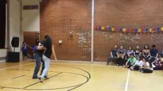 Awesome Salsa dance performance