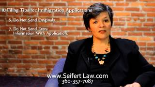 10 Filing Tips for Immigration Applications