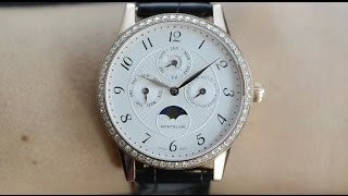 Montblanc Boheme Perpetual Calendar Luxury Watch - Eve's Watch