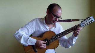 Rui Namora plays Sokolov Polka on a 19th century Russian 7-string Guitar