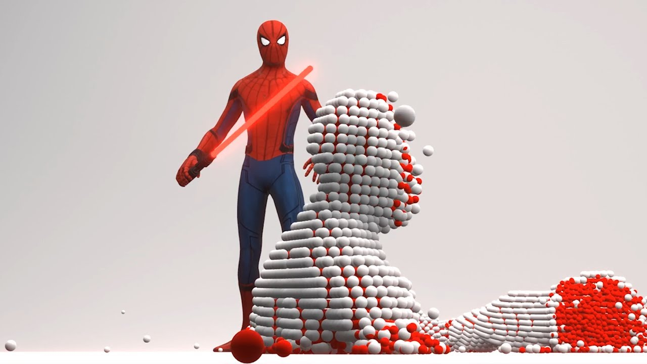 If SPIDERMAN were a Star Wars character [Molecular Simulation]