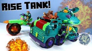 Rise of the Teenage Mutant Ninja Turtles Toys Turtle Tank 2018
