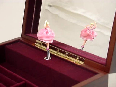 Amazing Musical Ballerina Jewelry Music Box - Customize With A Song & Engraving