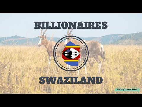 Richest People in SWAZILAND 2018