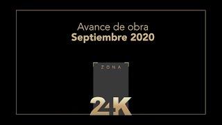 Avance de obra Zona 24K - Septiembre 2020