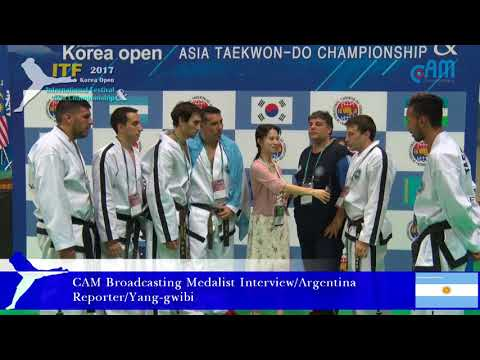 CAM Broadcasting Medalist Interview/Argentina